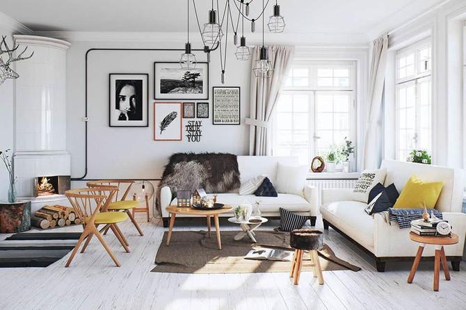 Скандинавский стиль в интерьере – философия простоты и гармонии.