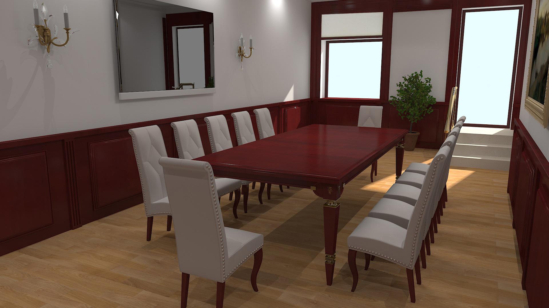 Дизайн интерьера переговорной