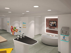 Дизайн интерьера центра обслуживания