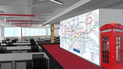 Дизайн офисного openspace. Москва