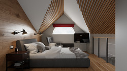 таунхаус интерьер спальня