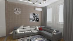 Минималистичный интерьер квартиры