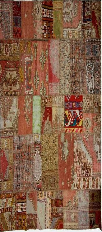 שטיח טלאים בעבודת יד 202