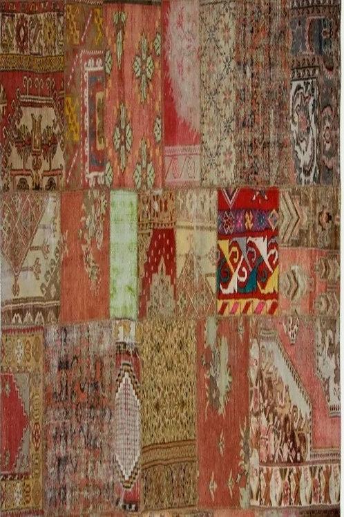 שטיח טלאים בעבודת יד 03