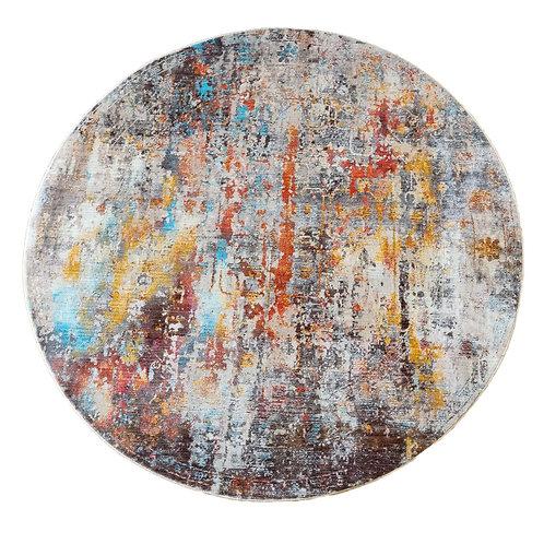 שטיח אבסטרקט עגול 32