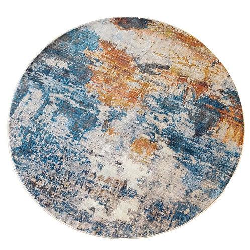 שטיח אבסטרקט עגול 35