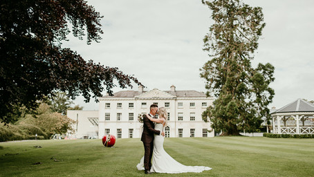 Farnham Estate Wedding || Joanna & Gareth