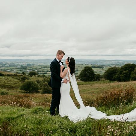 Marquee Wedding in Northern Ireland        Abii & Adam