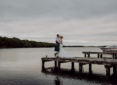 Lusty Beg Wedding || Kathy & Daniel