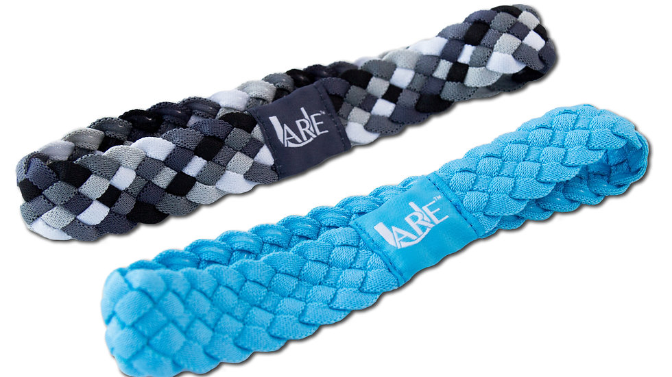 2 Pack of Active Headbands (Blue & Gray)