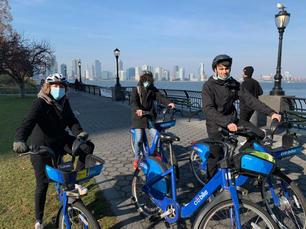 Bike Lane Citibike Trek
