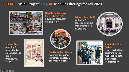 CityLAB Mini-Projects