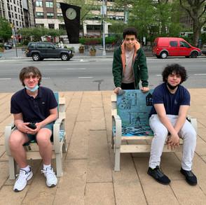 Public art chair leaving Lincoln Center