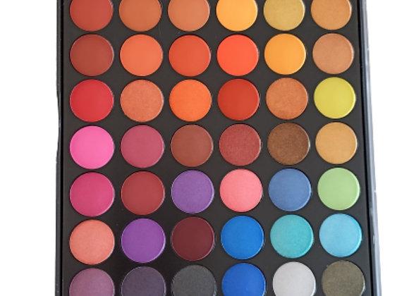 TIL 60 color palette eyes shadown