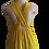 Thumbnail: Wrap Chest Elegant Bow Chiffon Large Swing Dress