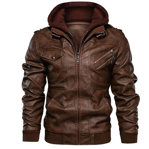 Motocycle Pu Leather Jacket