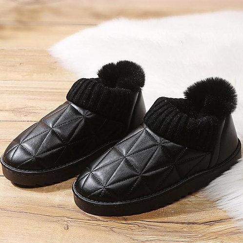 Warm Fur Slip-on Snow Boots