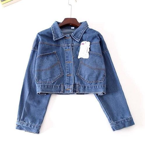 Bat sleeve Jeans Jacket