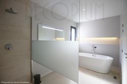 salle de bian design baignoire ilot lang