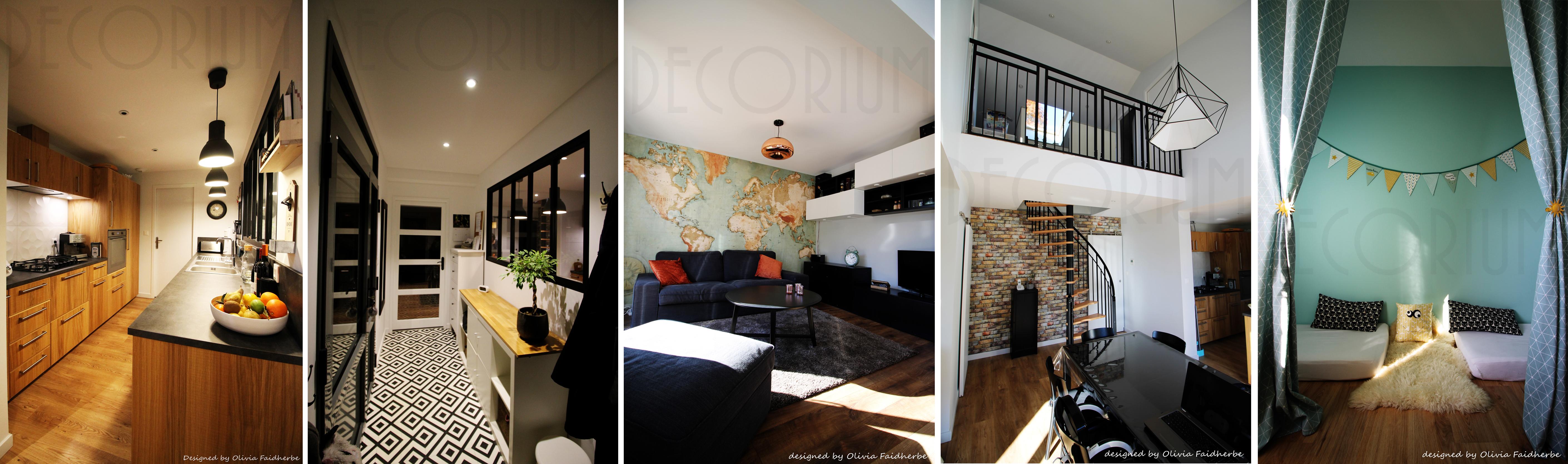 maison neuve Rions conception decoration