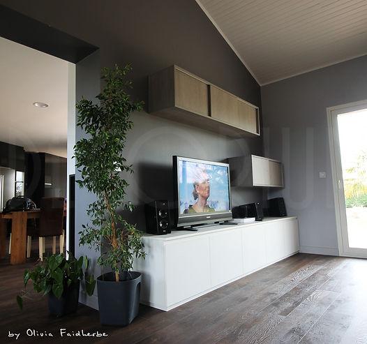 meuble TV sur mesure créon
