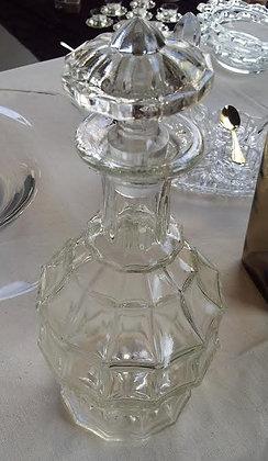 Ancienne carafe à alcool style Art Déco