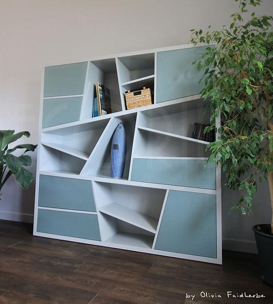 bibliothèque sur mesure créon