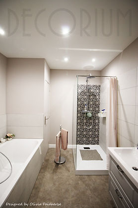 salle de bain doux vintage Olivia Faidhe