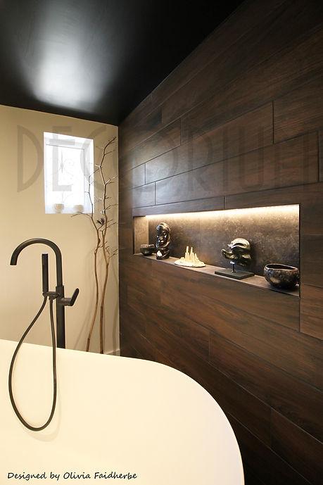 2 niche baignoire ilot decorium Olivia Faidherbe decorateur Langon Sauveterre Créon Libour