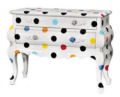 armoire trip 2 seletti motif pois 1099 euros chez konceptdesign - decoratrice bo