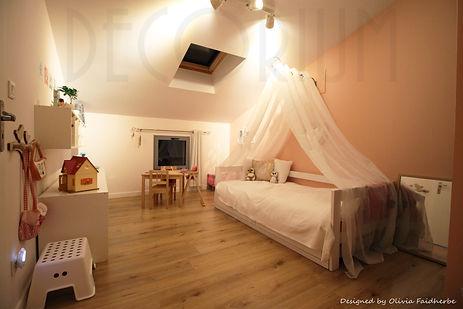 décoration chambre fille langon