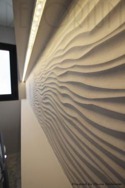 faience relief salle de baind design Oli