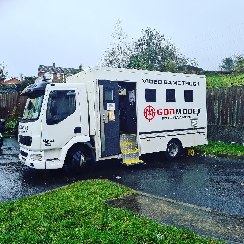GodmodeX truck Ballymoney/Coleraine