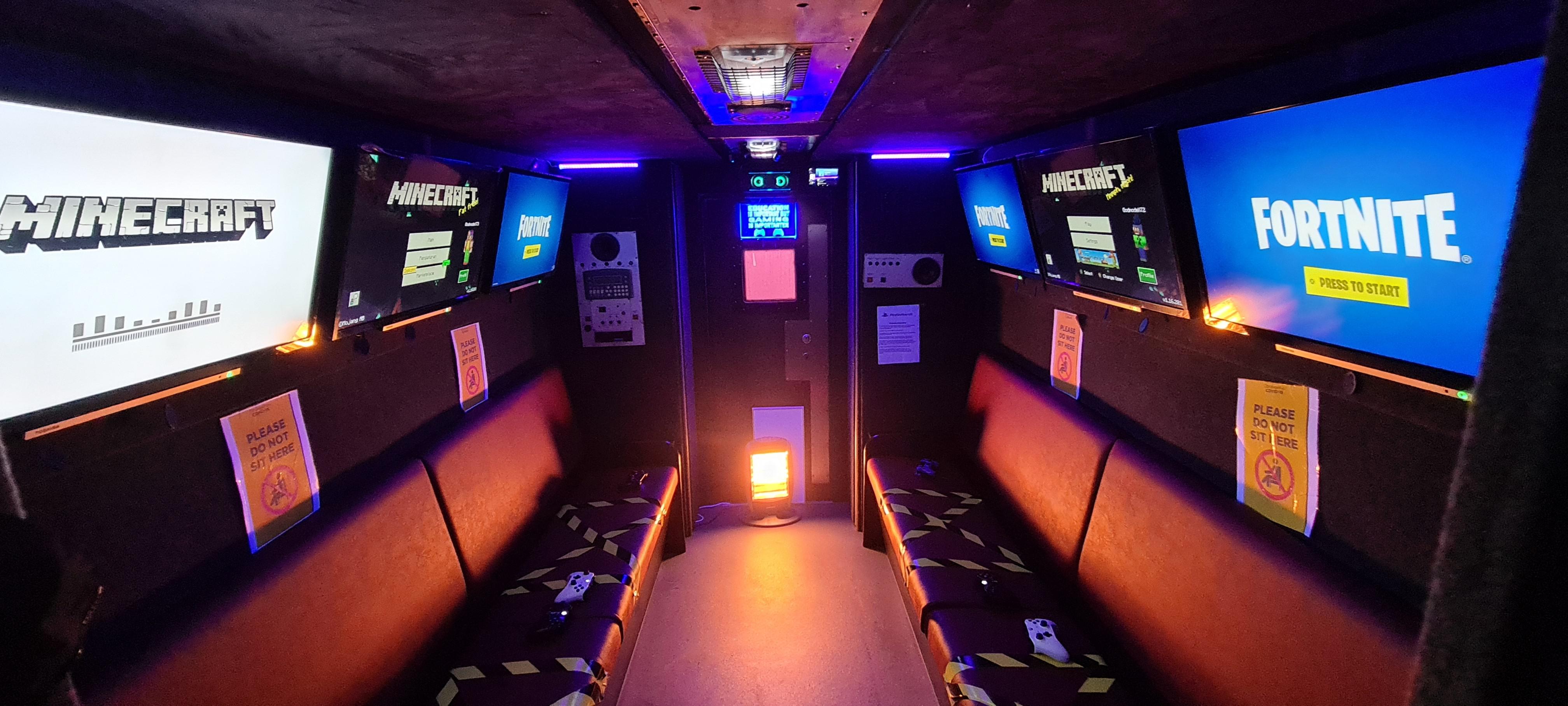 GodmodeX video Game Truck Newtownabbey