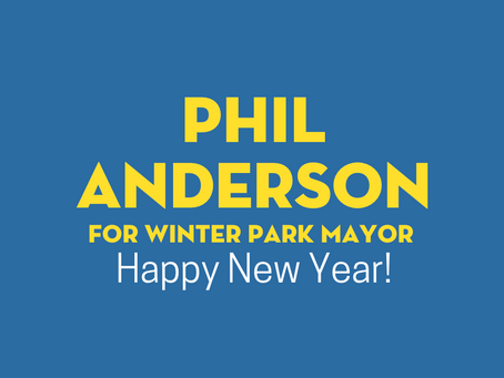 New Year, New Winter Park Mayor!