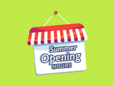 School Office Opening Hours in Summer Holidays