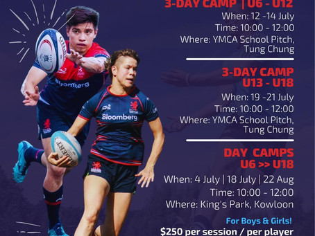 Summer Rugby Camps