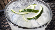 Serve up a julienned twist to the summer classic 'G&T'