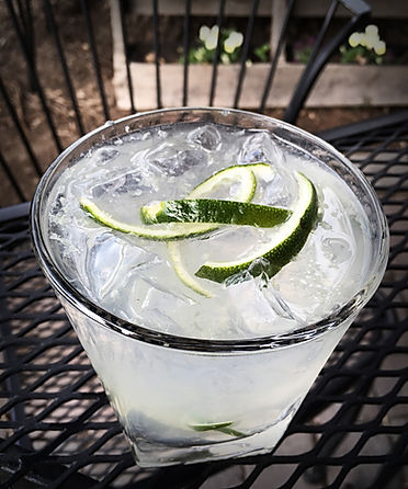A julienned twist on summer classic 'G&T' | Bar Boise Idaho Beer
