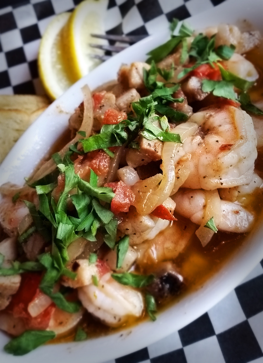 Capitol Bar Bayou Shrimp
