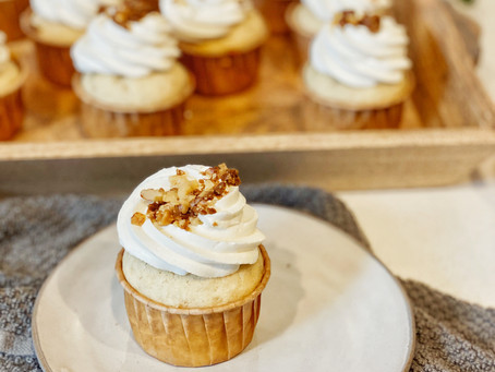 Our ALL TIME FAVORITE Banana Cupcakes Recipe!
