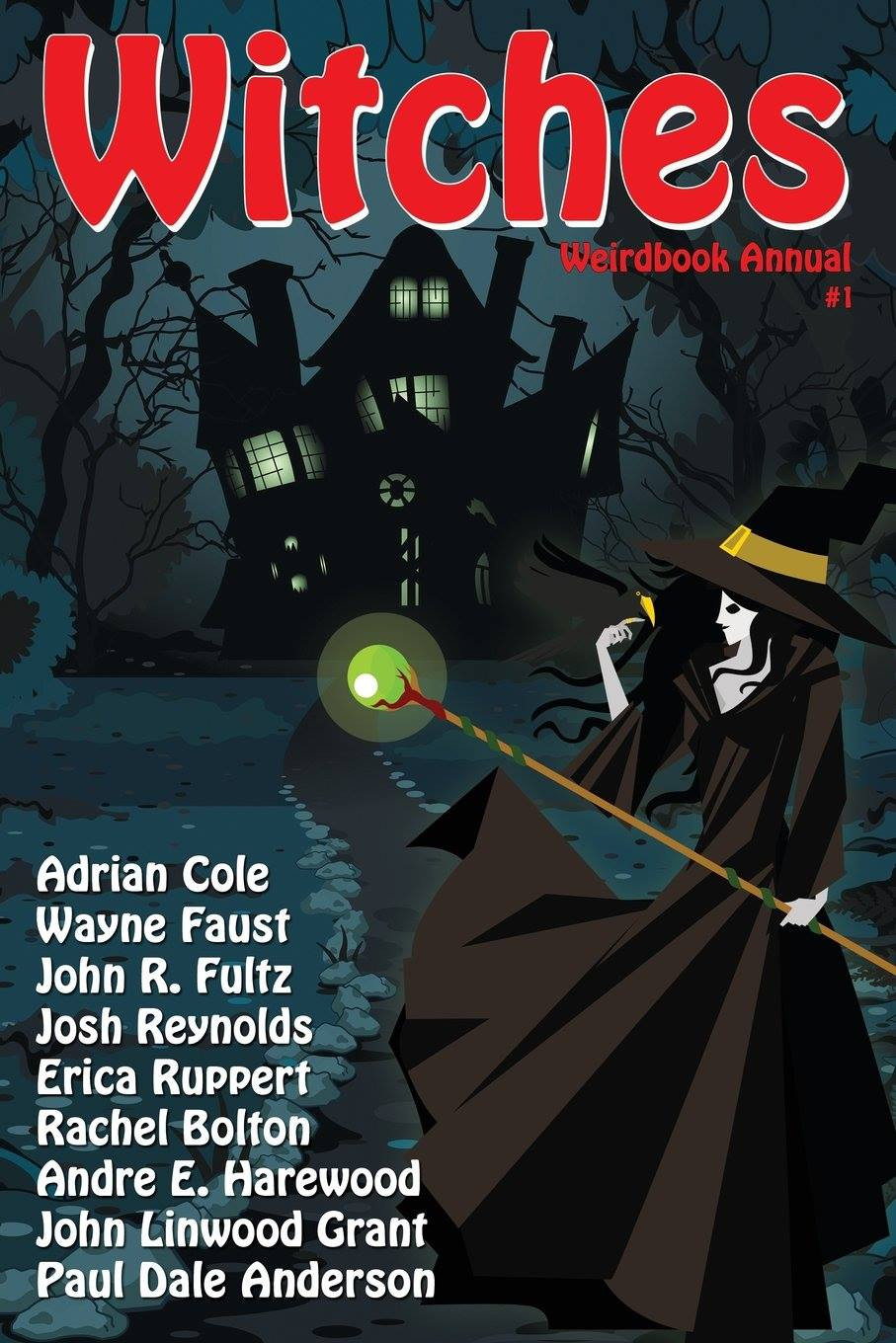 Cover of Weirdbook Witches issue