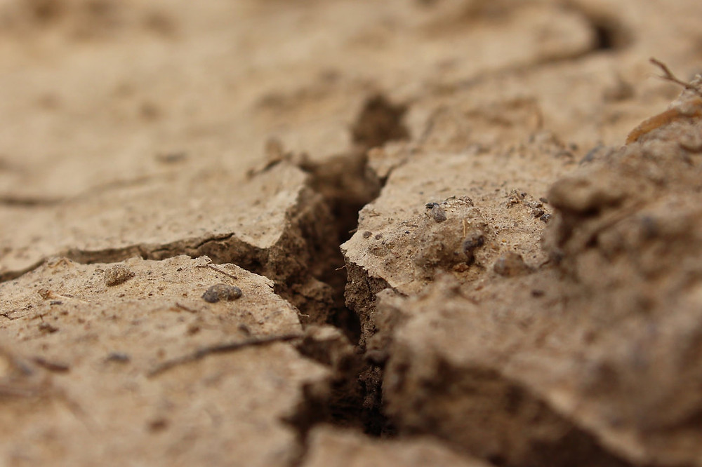earth, cracked, dust, dry