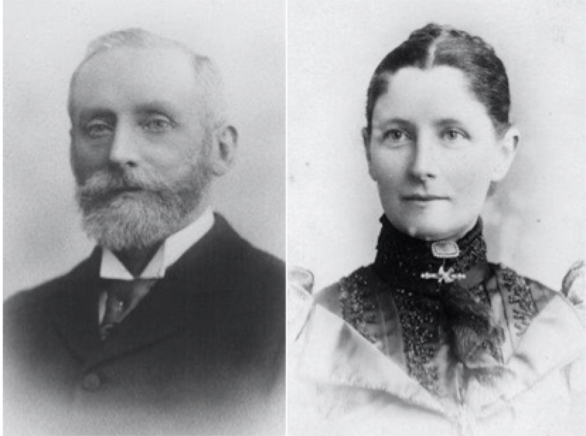William and Elvina Gibson of Scone
