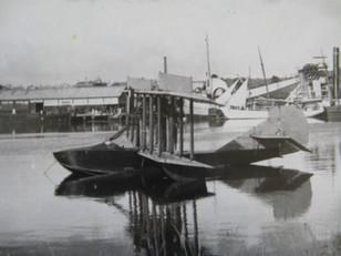 Historic seaplane survey landed in Launceston