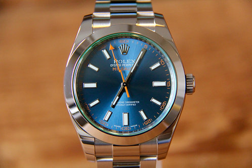 Rolex Milgauss - Z-Blue - 116400GV