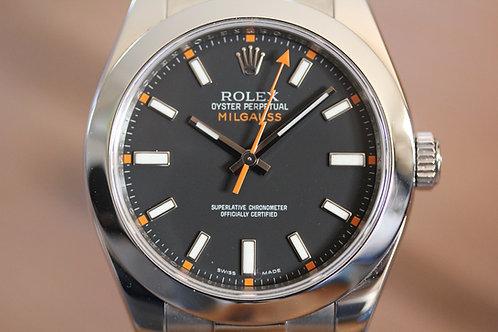 Rolex Milgauss - Black Dial - 116400