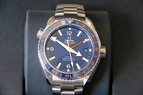Omega Seamaster Planet Ocean - Good Planet Foundation Edition - Box & Papers
