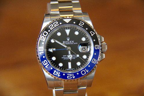 NEW - Rolex GMT Master II - 116710BLNR