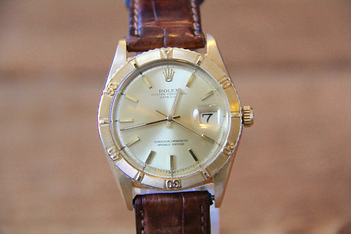 Rolex 1625 Turn-o-graph Thunderbird 18k